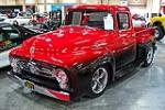 1956 FORD F-1 CUSTOM PICKUP - Front 3/4 - 112700