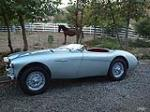 1954 AUSTIN-HEALEY 100 ROADSTER - Side Profile - 112723