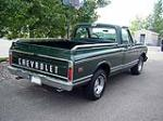 1970 CHEVROLET C-10 FLEETSIDE SHORTBOX PICKUP - Rear 3/4 - 112751