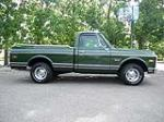 1970 CHEVROLET C-10 FLEETSIDE SHORTBOX PICKUP - Side Profile - 112751