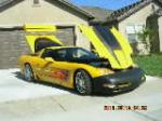 2000 CHEVROLET CORVETTE CUSTOM COUPE - Side Profile - 112798