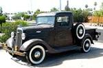 1935 CHEVROLET CUSTOM PICKUP - Front 3/4 - 112842