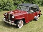1949 WILLYS JEEPSTER CONVERTIBLE - Front 3/4 - 112844