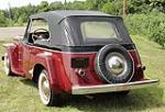 1949 WILLYS JEEPSTER CONVERTIBLE - Rear 3/4 - 112844
