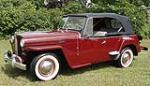 1949 WILLYS JEEPSTER CONVERTIBLE - Side Profile - 112844