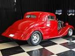 1934 FORD CUSTOM 2 DOOR COUPE - Rear 3/4 - 112873
