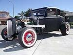 1932 FORD 5 WINDOW CUSTOM COUPE - Front 3/4 - 112890