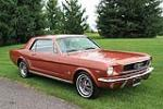 1966 FORD MUSTANG 2 DOOR COUPE - Front 3/4 - 112895