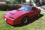 1990 PONTIAC FIREBIRD TRANS AM GTA COUPE - Side Profile - 112897