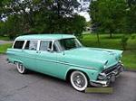 1955 FORD COUNTRY SEDAN WAGON - Front 3/4 - 113015