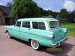 1955 FORD COUNTRY SEDAN WAGON - Rear 3/4 - 113015