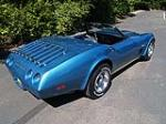 1974 CHEVROLET CORVETTE CONVERTIBLE - Rear 3/4 - 113040