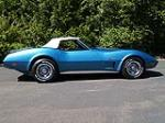 1974 CHEVROLET CORVETTE CONVERTIBLE - Side Profile - 113040