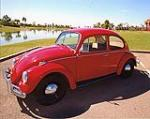 1967 VOLKSWAGEN BEETLE 2 DOOR SEDAN - Front 3/4 - 113077