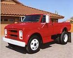 1967 CHEVROLET C-50 CUSTOM PICKUP - Front 3/4 - 113094