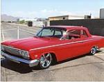 1962 CHEVROLET BEL AIR CUSTOM 2 DOOR SEDAN - Front 3/4 - 113095