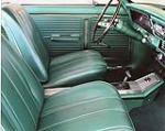 1966 CHEVROLET NOVA SS CUSTOM 2 DOOR SPORT COUPE - Interior - 113097