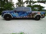 "2009 FORD F-150 CUSTOM ""FREEDOM"" TRUCK - Side Profile - 113128"
