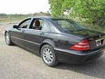 2000 MERCEDES-BENZ S500 4 DOOR SEDAN - Rear 3/4 - 113202