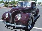 1938 FORD CONVERTIBLE COUPE - Front 3/4 - 113211