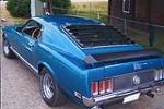 1970 FORD MUSTANG MACH 1 FASTBACK - Rear 3/4 - 113377