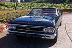 1966 CHEVROLET CHEVELLE CUSTOM CONVERTIBLE - Front 3/4 - 113383