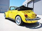 1976 VOLKSWAGEN BEETLE CONVERTIBLE - Rear 3/4 - 113393