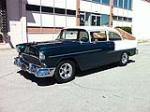 1955 CHEVROLET 210 CUSTOM 2 DOOR SEDAN - Front 3/4 - 113410