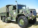 1989 AM GENERAL M35A2C CUSTOM MILITARY CARGO TRUCK - Front 3/4 - 113415