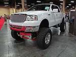 2004 FORD F-150 CUSTOM PICKUP - Front 3/4 - 113815