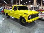1969 FORD F-100 CUSTOM PICKUP - Front 3/4 - 113853