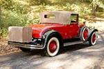 1929 LASALLE CONVERTIBLE COUPE - Rear 3/4 - 115909