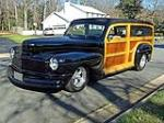 1947 MERCURY CUSTOM WOODY WAGON - Front 3/4 - 115914