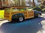 1947 MERCURY CUSTOM WOODY WAGON - Rear 3/4 - 115914