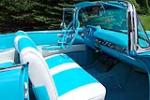 1957 CHEVROLET BEL AIR CONVERTIBLE - Interior - 115923