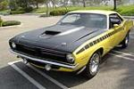 1970 PLYMOUTH CUDA AAR 2 DOOR COUPE - Front 3/4 - 115929
