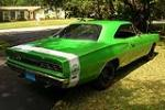 1969 DODGE SUPER BEE 2 DOOR HARDTOP - Rear 3/4 - 115953