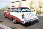 1956 CHEVROLET NOMAD CUSTOM WAGON - Rear 3/4 - 115972