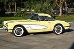 1958 CHEVROLET CORVETTE CONVERTIBLE - Side Profile - 116023