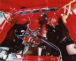 1970 CHEVROLET CHEVELLE CUSTOM CONVERTIBLE - Engine - 116037