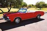 1970 CHEVROLET CHEVELLE CUSTOM CONVERTIBLE - Side Profile - 116037