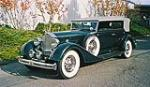 1934 PACKARD 1104 DIETRICH CONVERTIBLE SEDAN - Side Profile - 116045