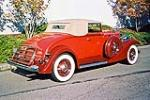 1933 PACKARD 1001 COUPE ROADSTER - Rear 3/4 - 116046