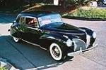 1941 LINCOLN CONTINENTAL 2 DOOR COUPE - Front 3/4 - 116049