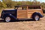 1936 FORD CUSTOM WOODY WAGON - Side Profile - 116050