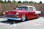 1955 CHEVROLET 210 CUSTOM 2 DOOR SEDAN - Front 3/4 - 116130