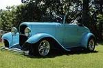 1932 FORD CUSTOM CABRIOLET - Front 3/4 - 116145