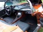 1962 CHEVROLET CORVETTE CUSTOM CONVERTIBLE - Interior - 116159