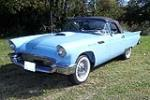 1957 FORD THUNDERBIRD CONVERTIBLE - Front 3/4 - 116161