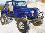 1980 JEEP CJ-7 CUSTOM SUV - Front 3/4 - 116168